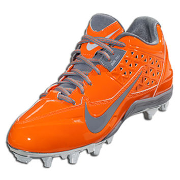 Nike Women's Speedlax 4 Limited Edition - Total Orange/Stealth Lacrosse Cleats || LACROSSE.COM