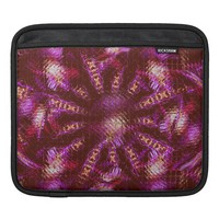 Abstract Shimmer me Purple iPad Sleeve