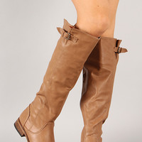 Parksville-20U Buckle Riding Knee High Boot