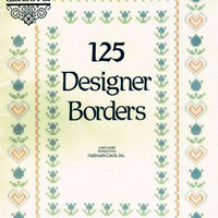 Cross Stitch Pattern Book by Gloria and Pat 125 Designer Borders