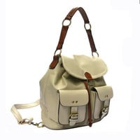 Fashion Flap Buckle Women Backpack
