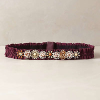 Ruched Gem Belt