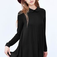 Cooperative Chiffon-Back Tunic Top - Urban Outfitters