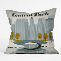 DENY Designs Home Accessories | Anderson Design Group Central Park Snow Throw Pillow
