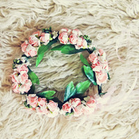 Flower Crown in Pink