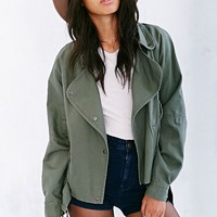 Margot Surplus Moto Jacket - Urban Outfitters
