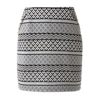 Apt. 9® Jacquard Ponte Mini Skirt - Women's