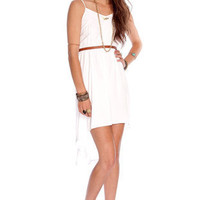 Bella Dress in White :: tobi