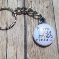 Twenty One Pilots chain key chain.