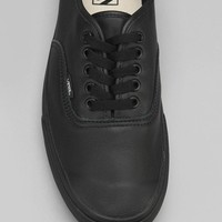 Vans Authentic Italian Leather Monochromatic Men's Sneaker - Urban Outfitters