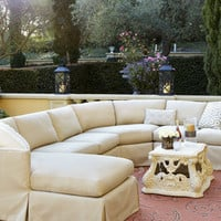 Outdoor Upholstered Sectional - Neiman Marcus
