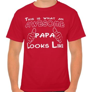 This is what an AWESOME PAPA looks like