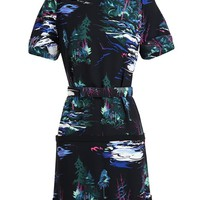 BALENCIAGA | Belted Landscape Dress | Browns fashion & designer clothes & clothing