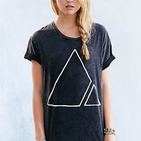 Vanguard Spliced Geo Boyfriend Tee - Urban Outfitters