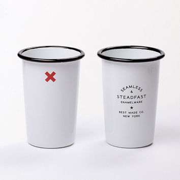 Seamless & Steadfast Tall Enamel Tumblers  (Set of Two) - Enamel Tumblers (Set of Two) /