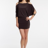 Jersey Blouson Dress