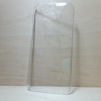 HTC One M8 clear hard plastic case
