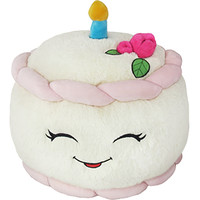 Squishable Birthday Cake: An Adorable Fuzzy Plush to Snurfle and Squeeze!