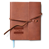 TOMS Saddle Brown Travel Journal