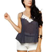 Papaya Clothing Online :: DOTTED CHIFFON CAMI