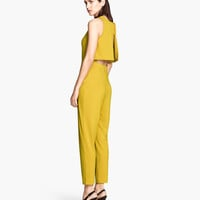 Sleeveless Jumpsuit - from H&M