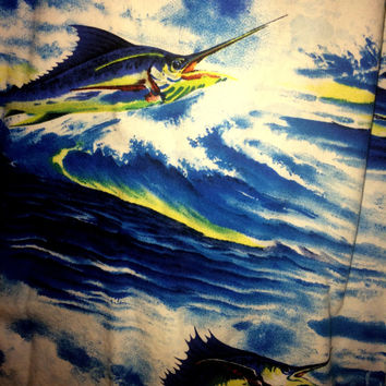 Swordfish Hawaiian Shirt