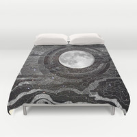 Moon Glow Duvet Cover by brenda erickson