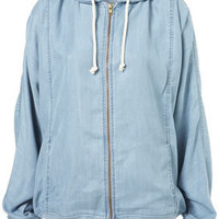 MOTO Premium Tencel Hoody - New In This Week - New In - Topshop