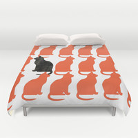 CATTERN SERIES 2 Duvet Cover by Catspaws | Society6