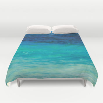 SEA BEAUTY Duvet Cover by Catspaws | Society6