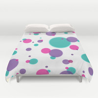 Dots Duvet Cover by eDrawings38 | Society6