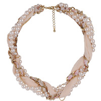 Vintage Twist Pearlescent Necklace | FOREVER21 - 1000013533