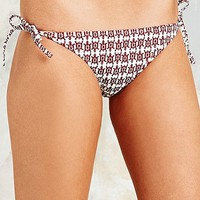 Turtle Two-Tone Bikini Briefs - Urban Outfitters
