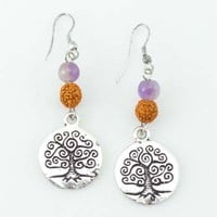 Zen Rudraksha Earrings