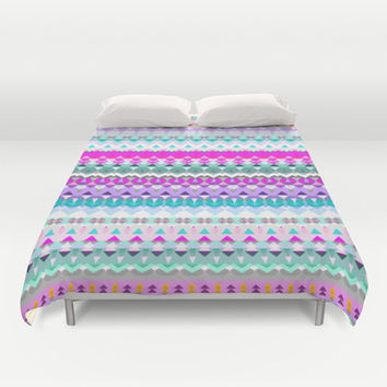 Mix #577 Duvet Cover by Ornaart