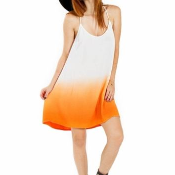 Citrus Dip Dress*