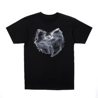 Wu Smoke Tee in Black/White