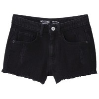 Junior's High Waisted Denim Short