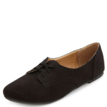 LACE-UP LOW PROFILE OXFORDS