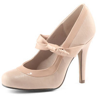 Nude knot court shoes - Heels - Shoes - Dorothy Perkins