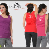 3Elfen Summer Shirt Tank Top Woman peace fairy