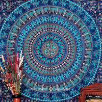 Camel Mandala Tapestry, Indian Mandala Tapestry, Throw Twin Wall Hanging, Bohemian Tapestry, Indian Tapestry, Beach Sheet, Etchnic Decor Art