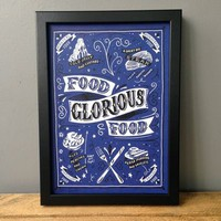 Food Glorious Food Print