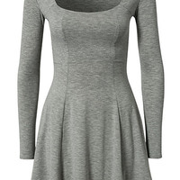 Long Sleeve Jersey Dress