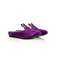 Marc by Marc Jacobs - Velvet Bunny Scuffs
