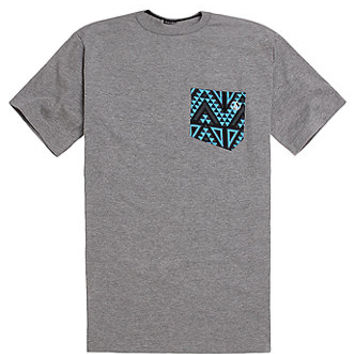 Volcom Trenton Basic Pocket T-Shirt - Mens Tee - Grey -