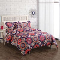 Walmart: Nina Boho Bedding Comforter Set, Orange