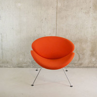 Mid Century Pierre Paulin Orange Slice Chair