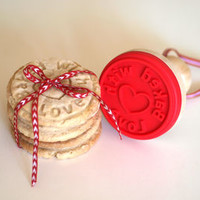Baked With Love Cookie Stamp