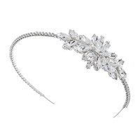 Dana Swarovski Crystal Bridal Headdress